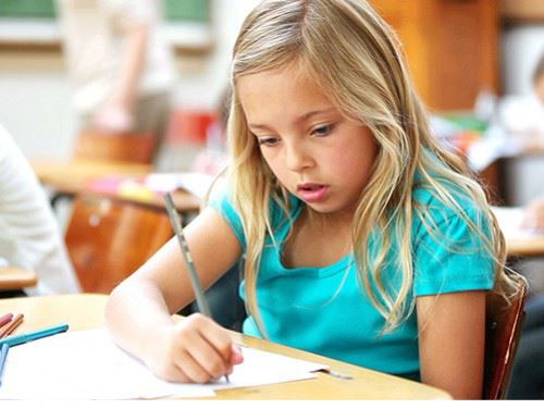 Young child studying at school | Nexton Development - Summerville, SC