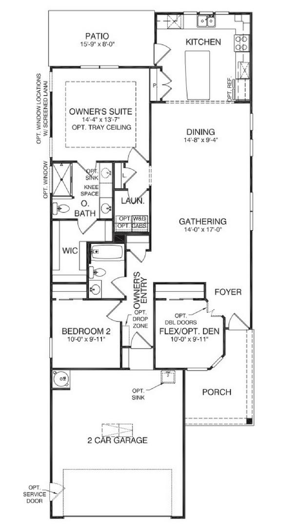Taft Street by Del Webb – Del Webb Taft Street Floor Plan