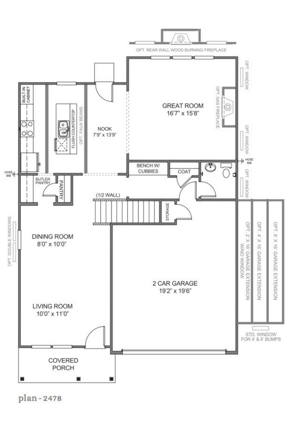 The lenox by truehomes for The lenox floor plan