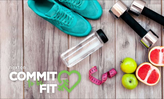 Commit-to-Be-Fit-Graphic-Exercise-Gear