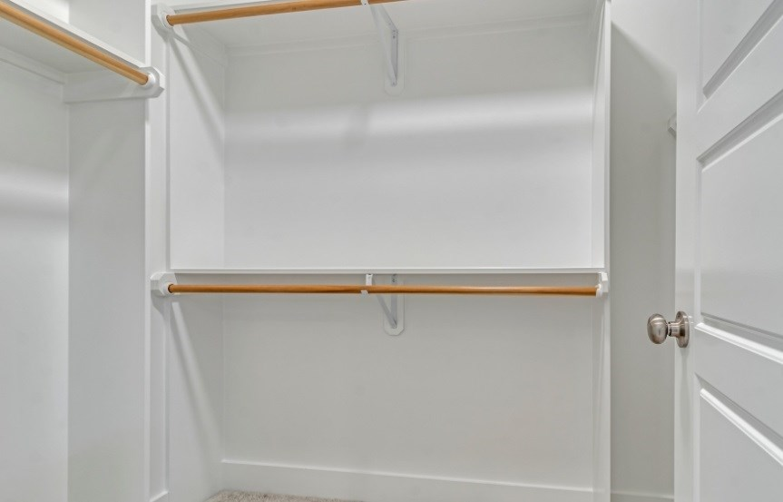 Homes By Dickerson move-in ready home master closet