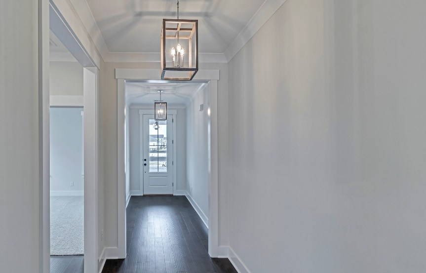 Homes By Dickerson move-in ready home hallway