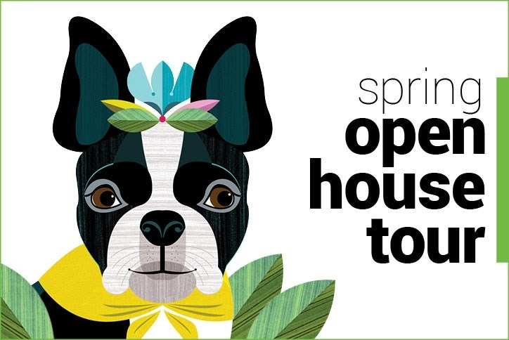 Spring Open Houses 2019 Dog Image