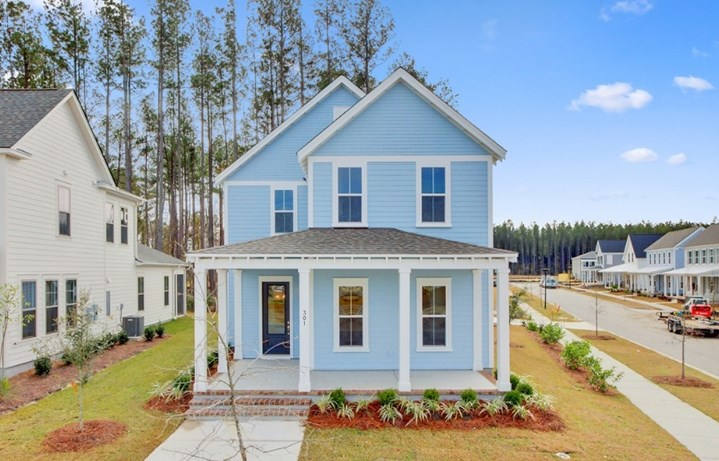 Palmetto home plan by Saussy Burbank