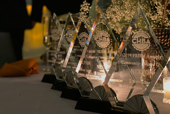 Nexton took home the Prism Awards for Best Mixed-Use Community, Best 55+ Community, Best Community Signage, Best Realtor Promo Campaign and Best Model Row Homes.