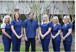 Carolina Periodontics team in Nexton