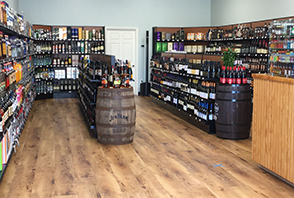 Inside Nelson Wine and Spirits, Nexton Square