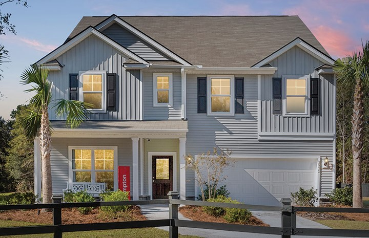 Centex Hampton model home in Nexton.