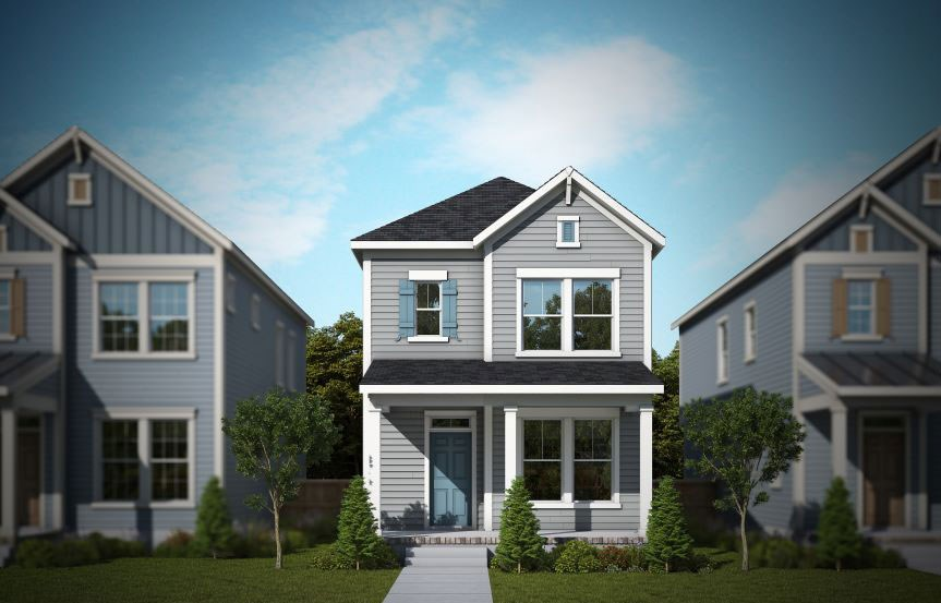 David Weekley Meadowview model home rendering, Nexton Midtown