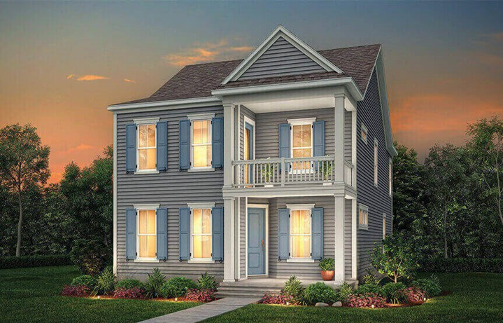 Rendering of the Marigold model by Pulte Homes.